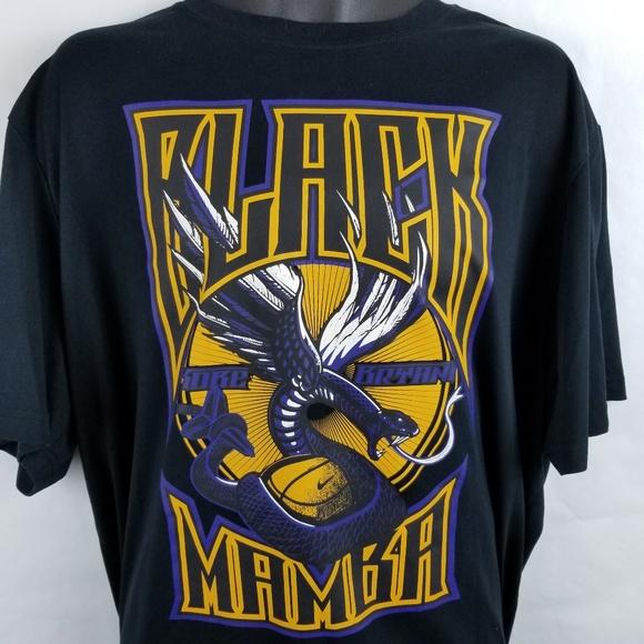 c7492fe4fb3a Nike Black Mamba Kobe Bryant Graphic T Shirt. M 5be6f0fa8ad2f96fdee3b5ef